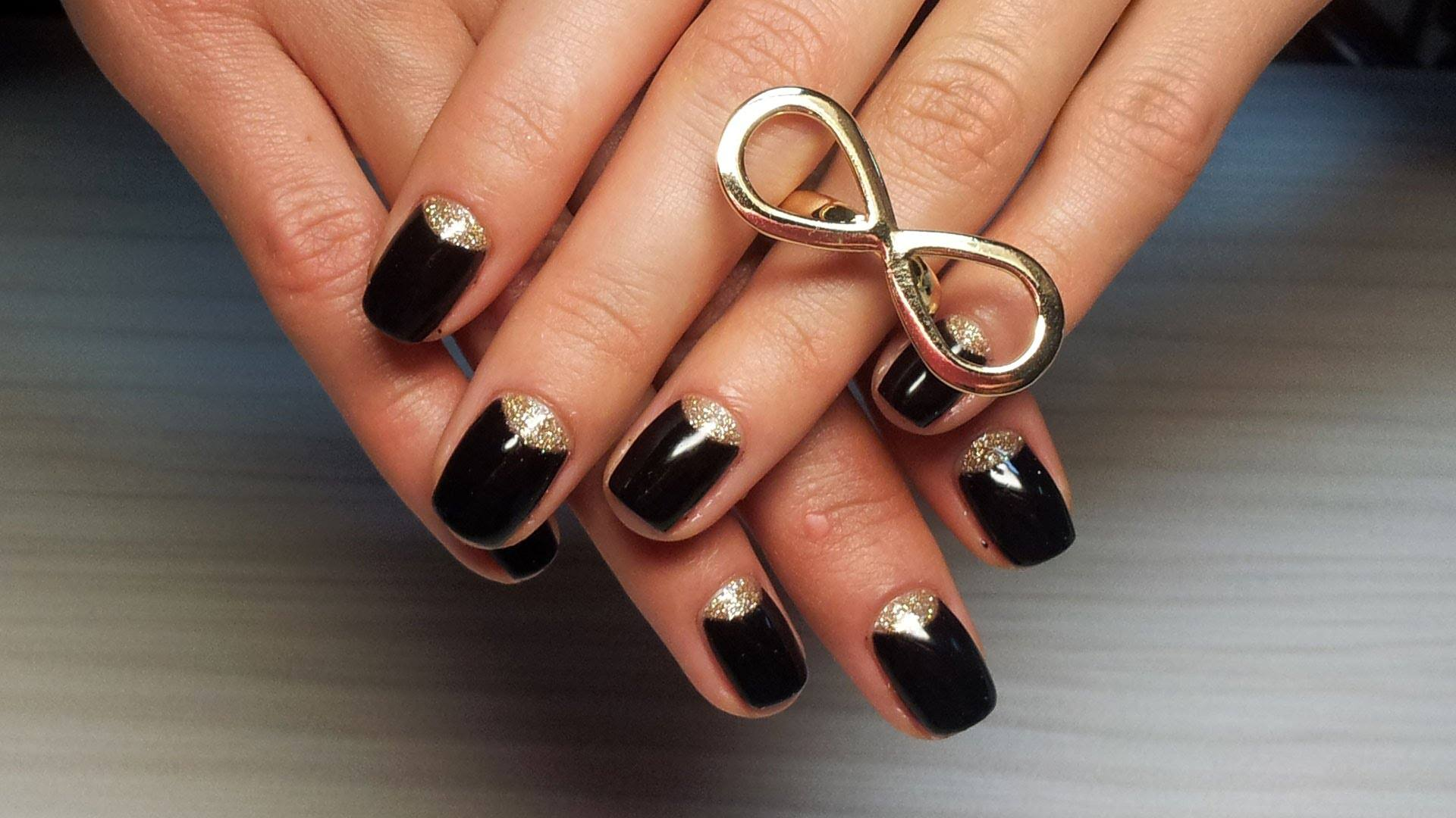 Узкие ногти на руках фото