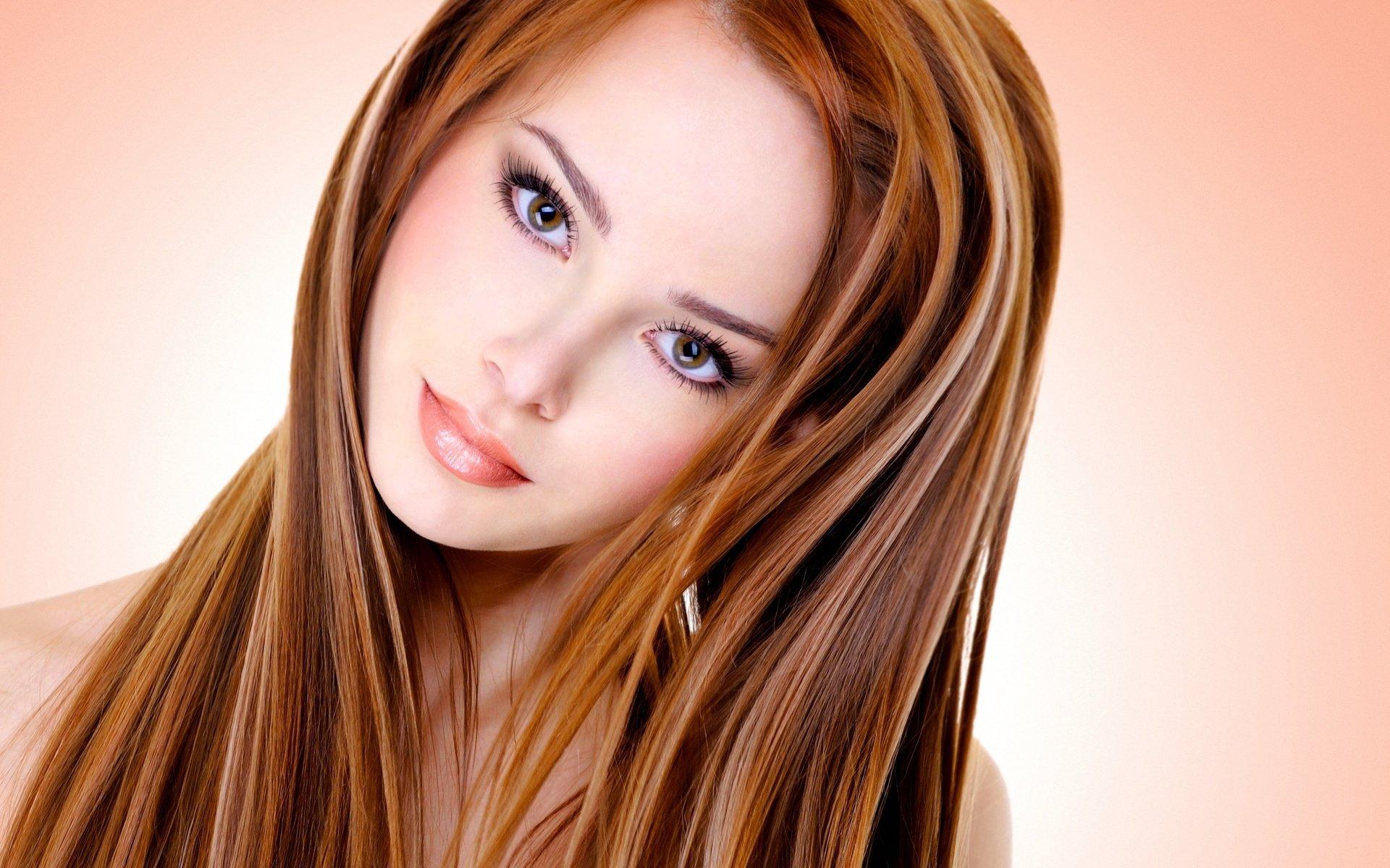 1111111212121 Мелирование на рыжие волосы: фото до и после, окрашивание на медный цвет, с челкой и без, на короткие, длинные, крашеные