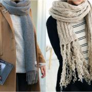 модные шарфы 2017-2018