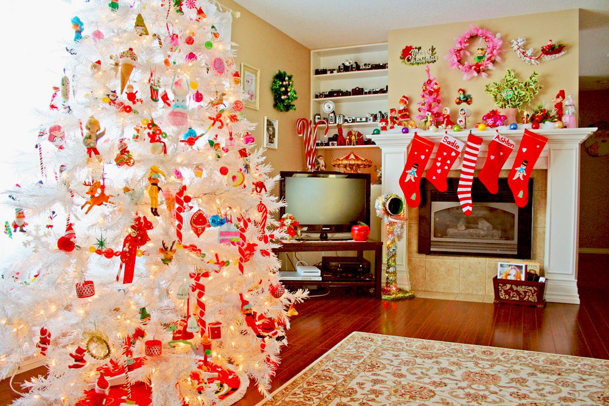 Украшения для дома на Новый год 2018 своими руками