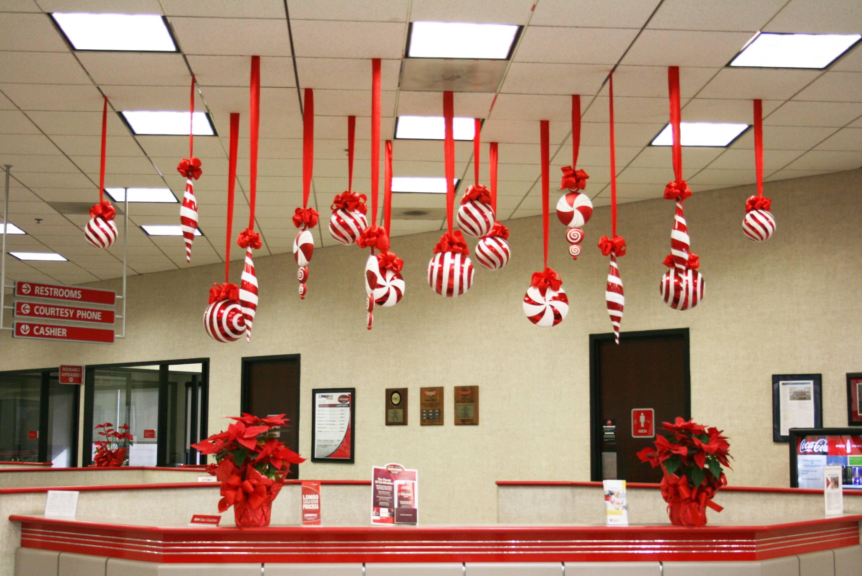 Оформление офиса на новый год своими руками фото 973
