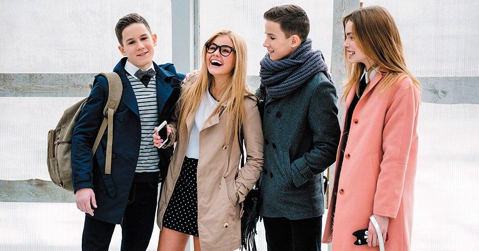 45ea514debf Мода для девочек и мальчиков подростков 2018  новинки и тенденции