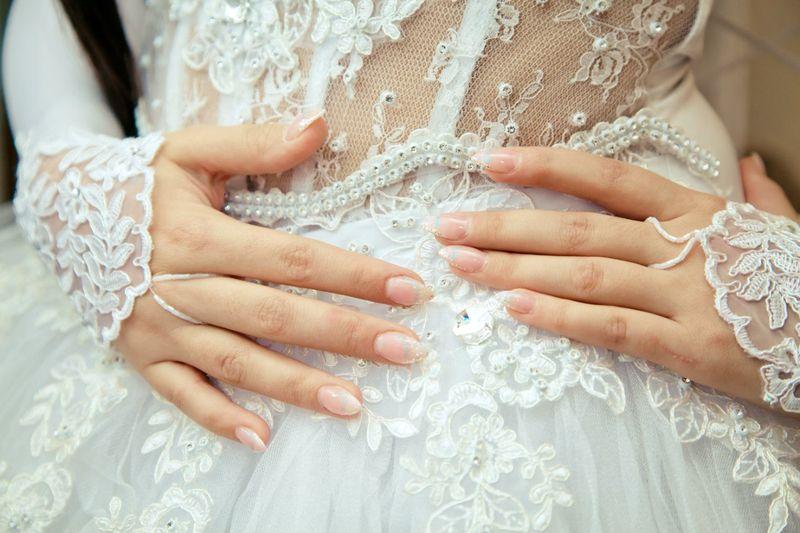 маникюр на свадьбу невесте фото деятельность мультипликации изображаются