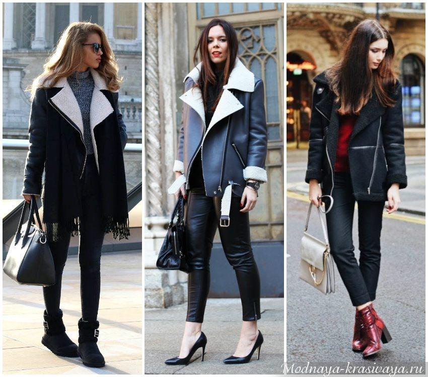 100 новинок  Модные женские дубленки осень-зима 2017-2018 года 0c2eb6d1e75