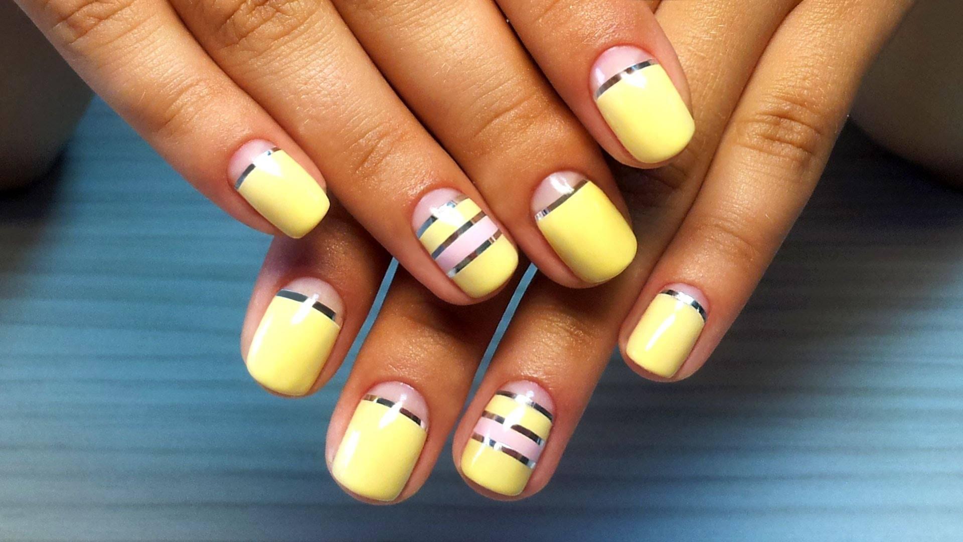 Дизайн ногтей фото обычные