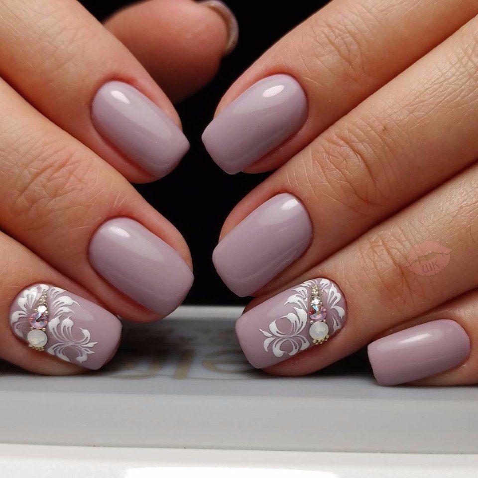 большой дизайн ногтей весенний 23