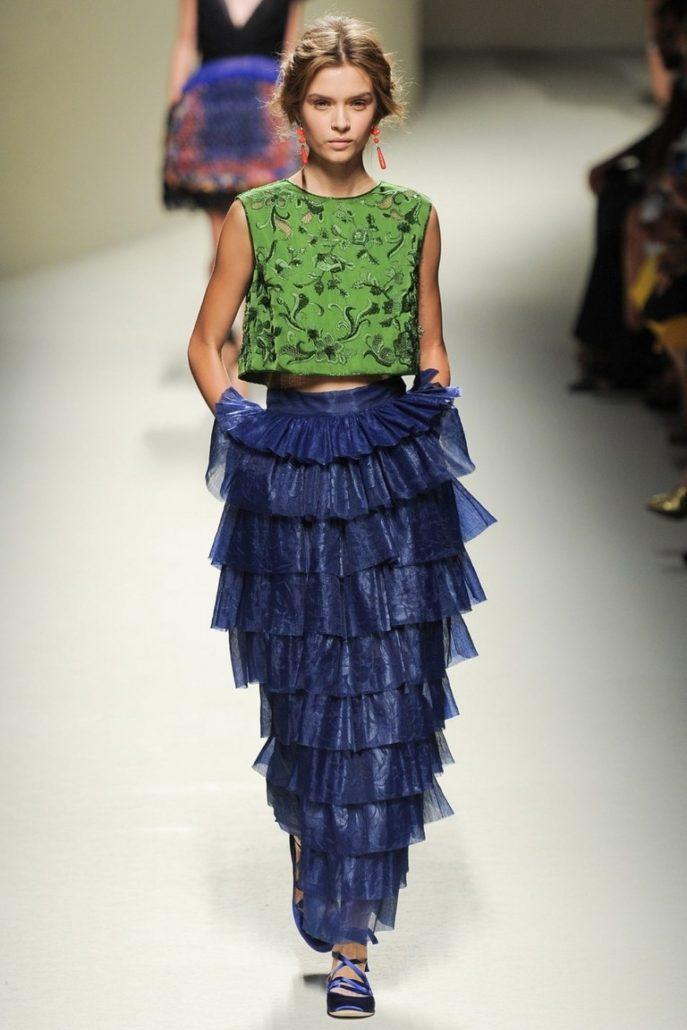 Зимой их предлагают носить с тяжелыми свитерами, а летом с широкими майками  или прозрачными блузами. f1272f0ce9a