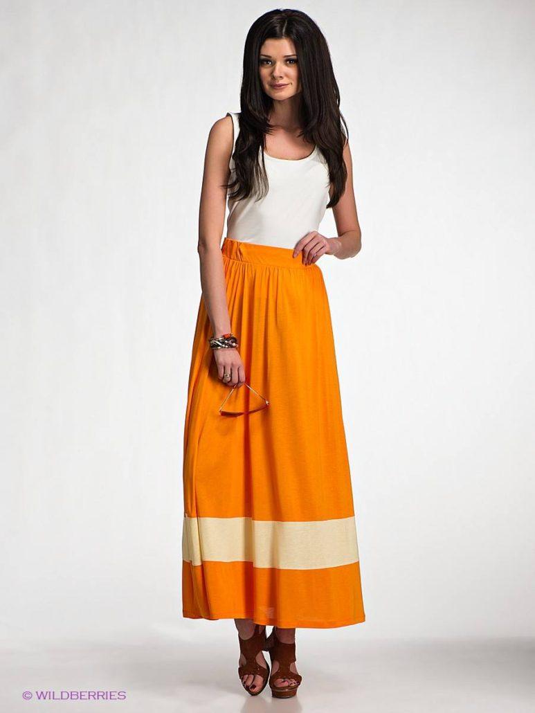 62fd6061640 100 модных новинок  Длинные юбки 2018 - с чем носить