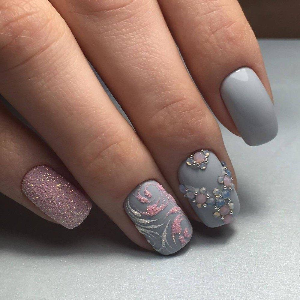 верхний дизайн ногтей весна 24 фото новинки
