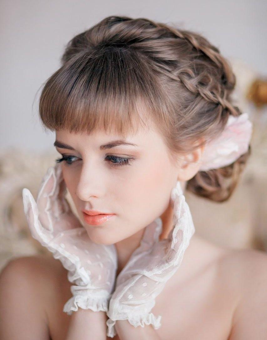 Вы готовы подобрать под сое свадебное платье идеальную укладку?