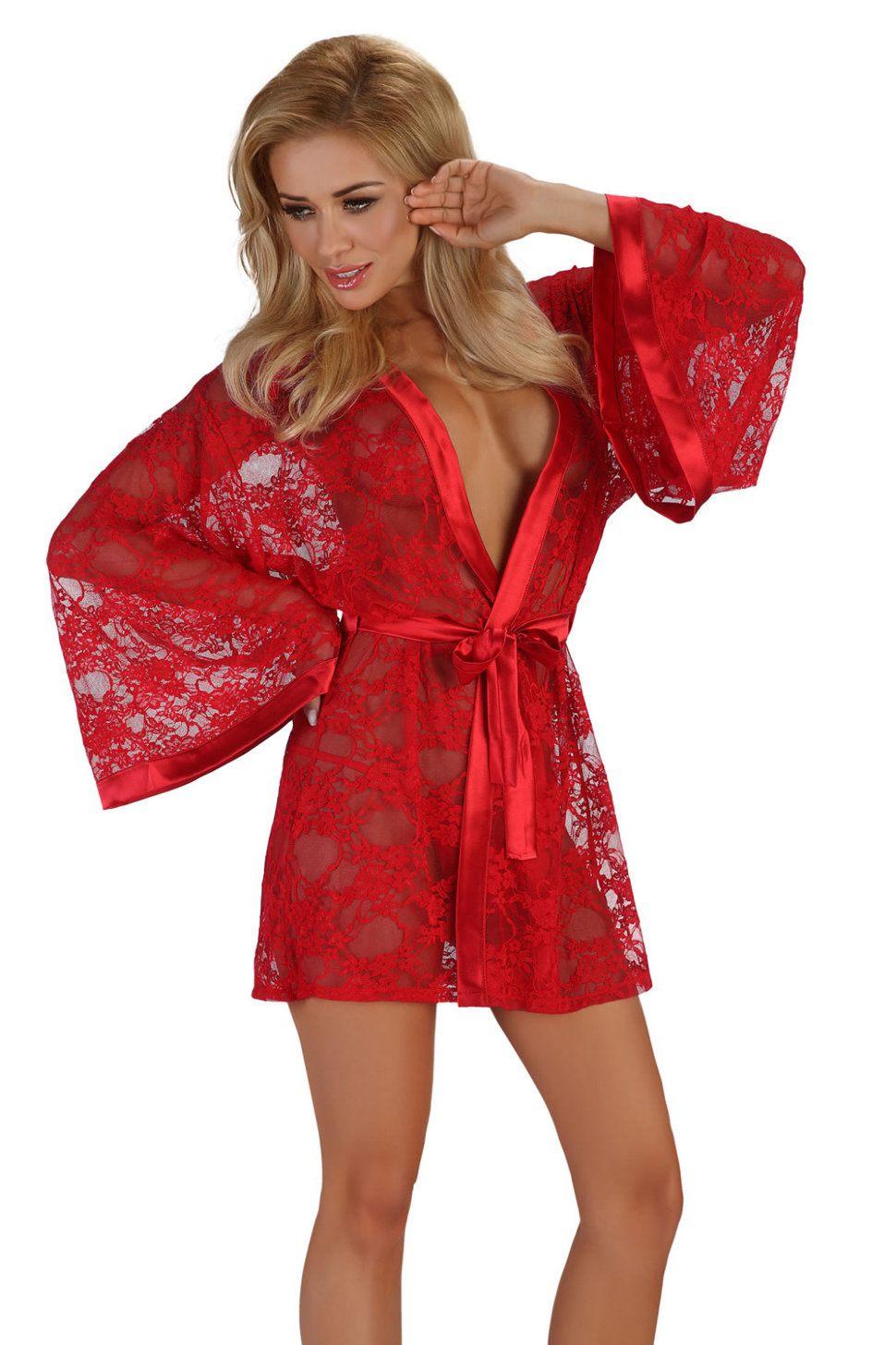 эро фото девушек в красных халатах давно хотел