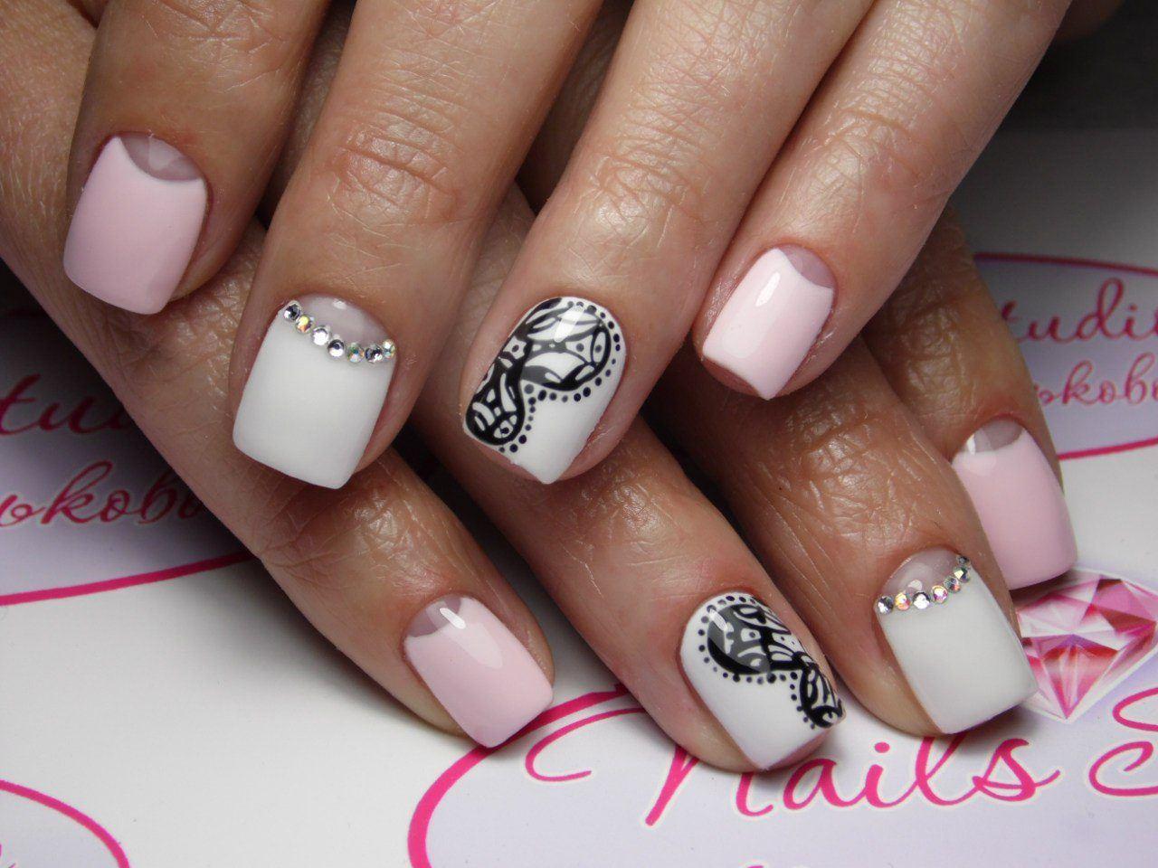Красивый шеллак фото ногтей