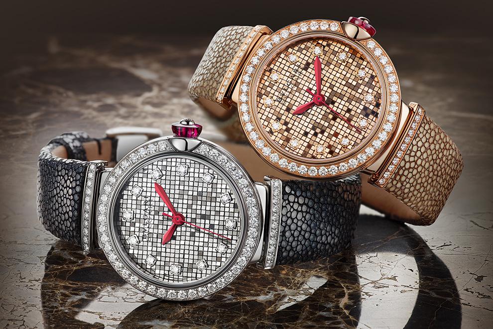 299c98583adb Бриллиантовые россыпи на женских часах – новинках 2018 модели Nantucket от  Hermès