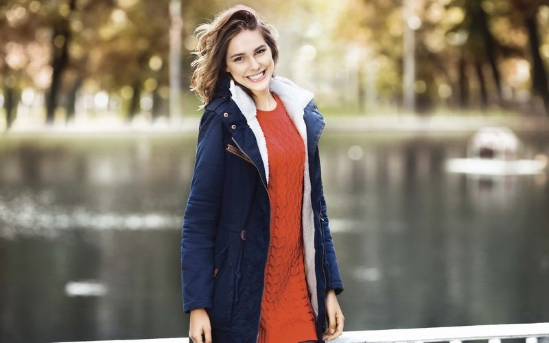100 модных новинок женские зимние куртки парки 2018 года на фото