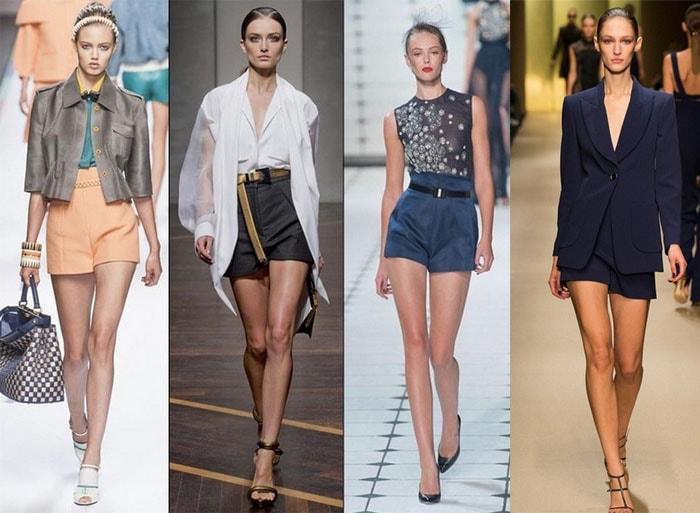 ae14ae38a0e3 100 модных новинок: Летние женские шорты 2018 - тенденции и тренды