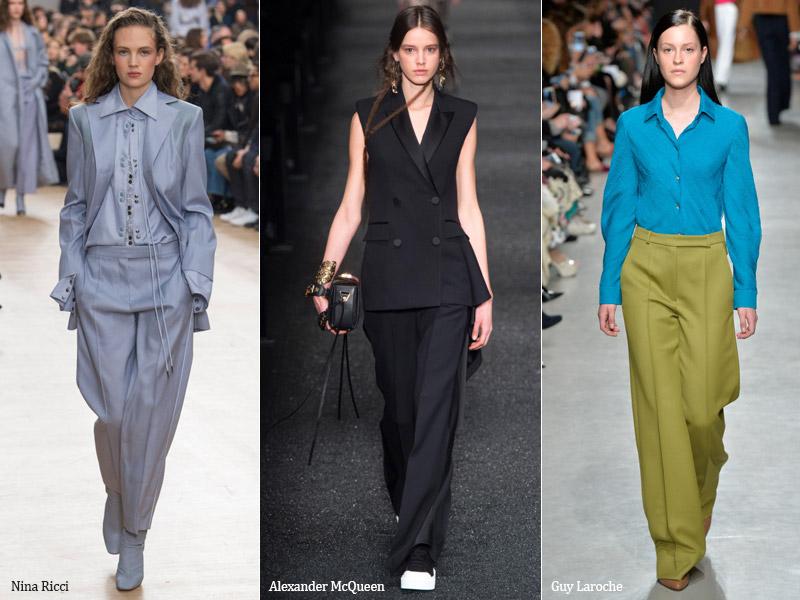 3086fdd7520ce Модные женские брюки: Новинки сезона осень-зима-весна 2018 года