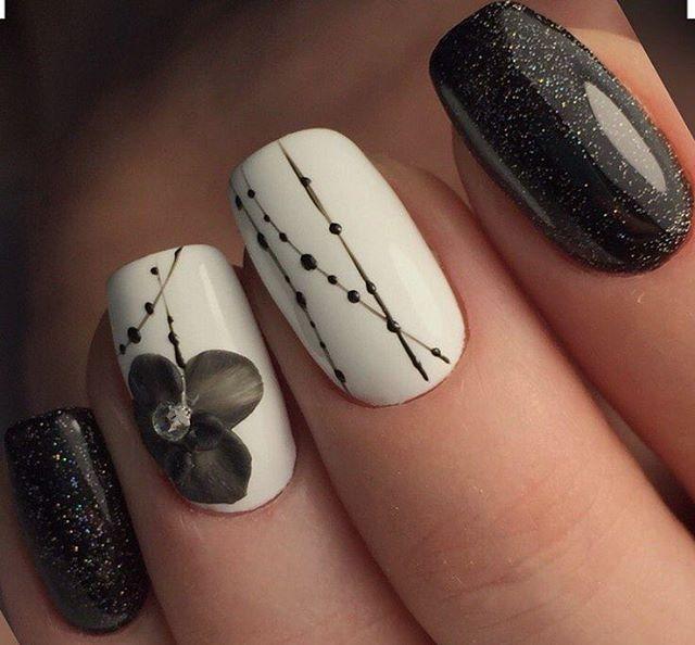 дизайн ногтей фото с рисунками
