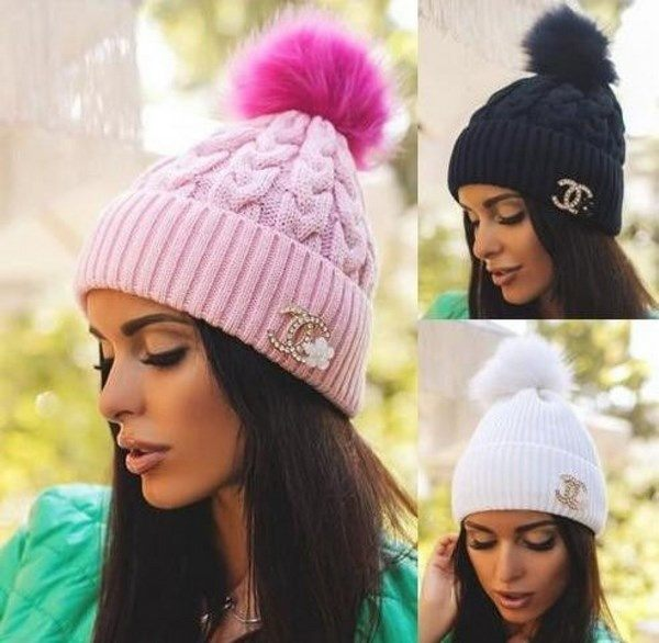 Так что теперь даже самые взыскательные модницы без труда выберут себе  красивую и стильную шапочку. Что будет актуально в 2018  d6201aed241a3