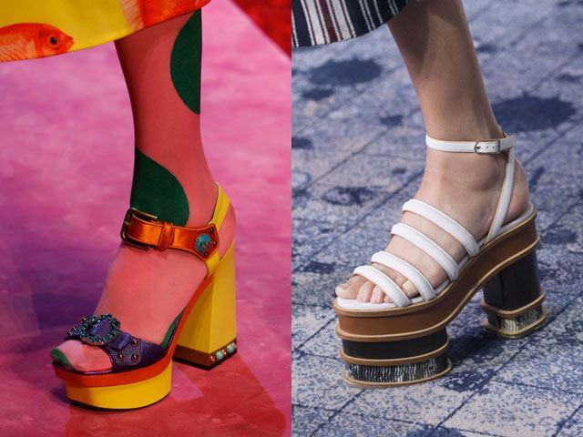 e1b1d3ce0753 Ежегодно дизайнеры предлагают модницам новые варианты сандалий и босоножек,  которые будут актуальны в новом сезоне. И 2018 не стал исключением.
