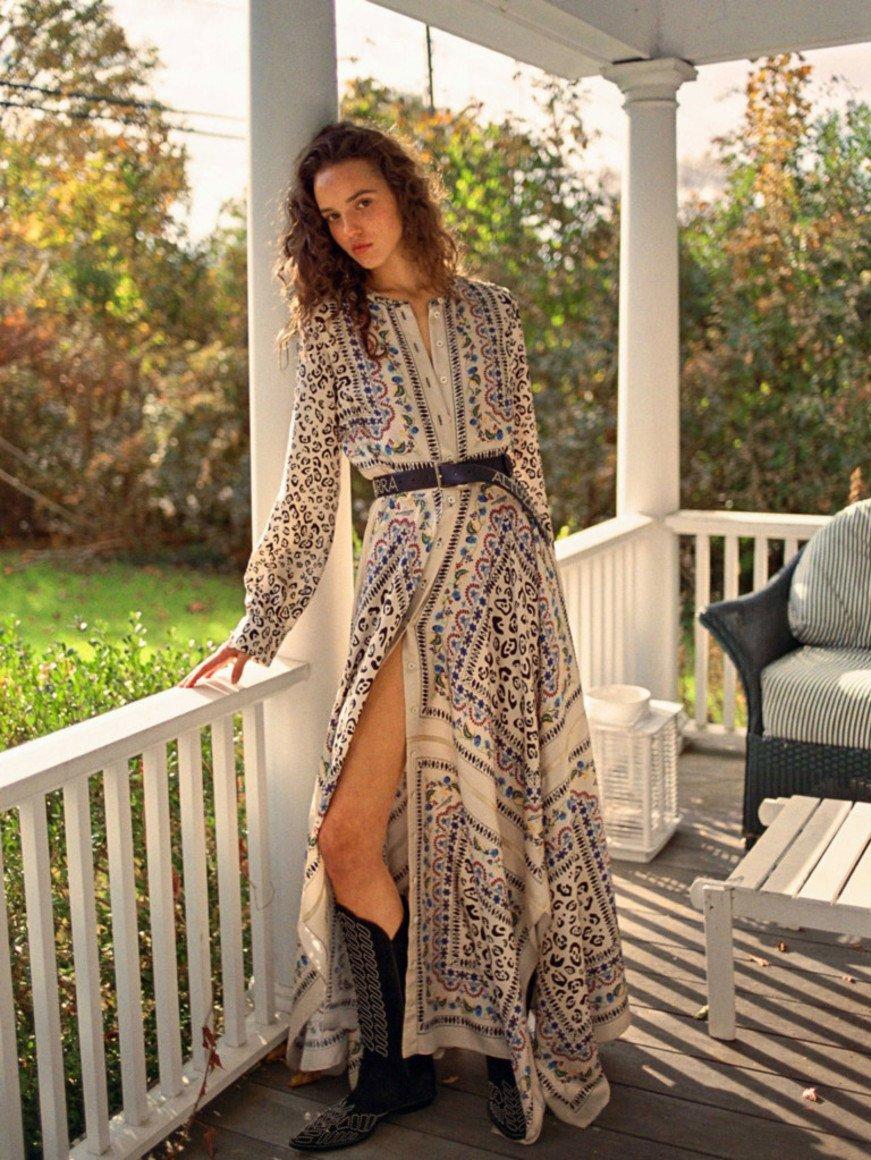 6fb5028451e2347 Замечательные платья с длинными рукавами представлены на фото ниже от самых  знаменитых создателей женской моды.