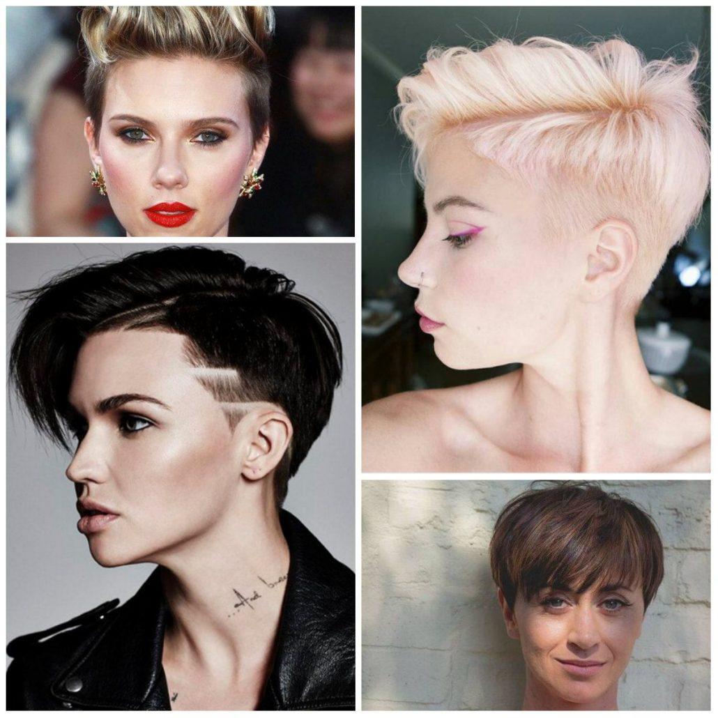 Как правило, в пикси основной объем волос не длиннее области уха.