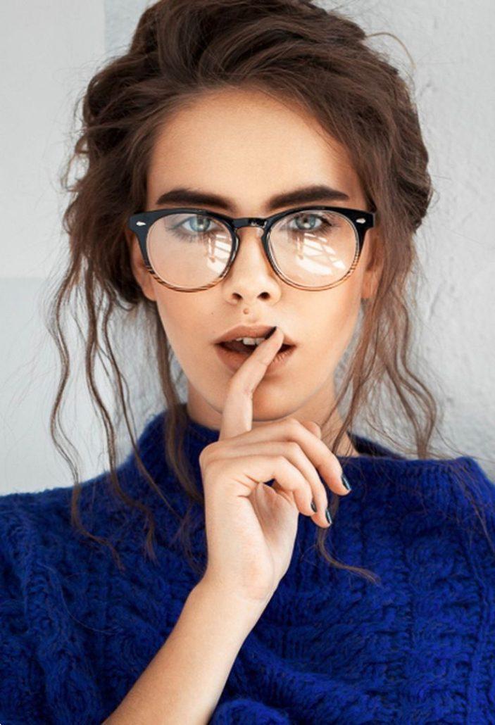 12295829d3a3 100 модных новинок: Оправы женских очков для зрения 2018 на фото