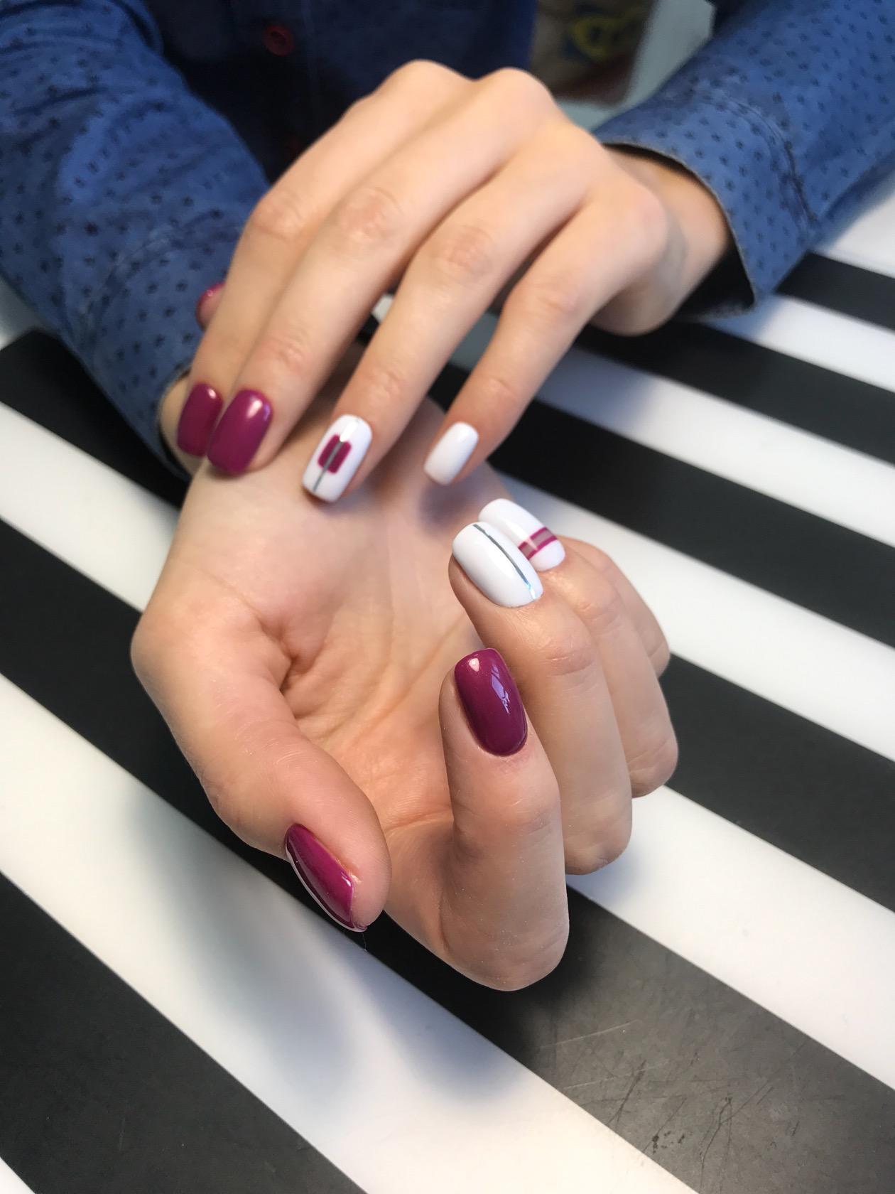 Классический Шеллак На Короткие Ногти Фото