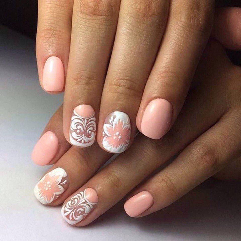фото ногти с рисунком