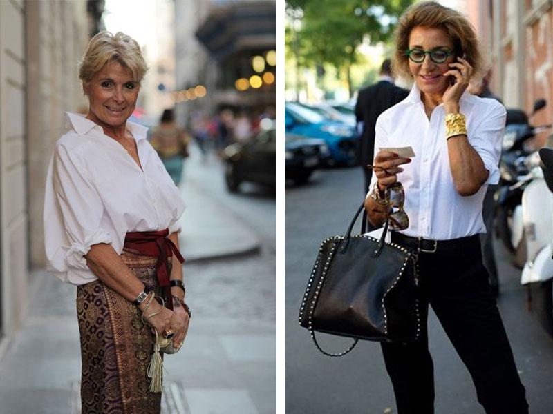 f596957bc25 Мода 2018 для женщин за 50  как одеваться и выглядеть стильно