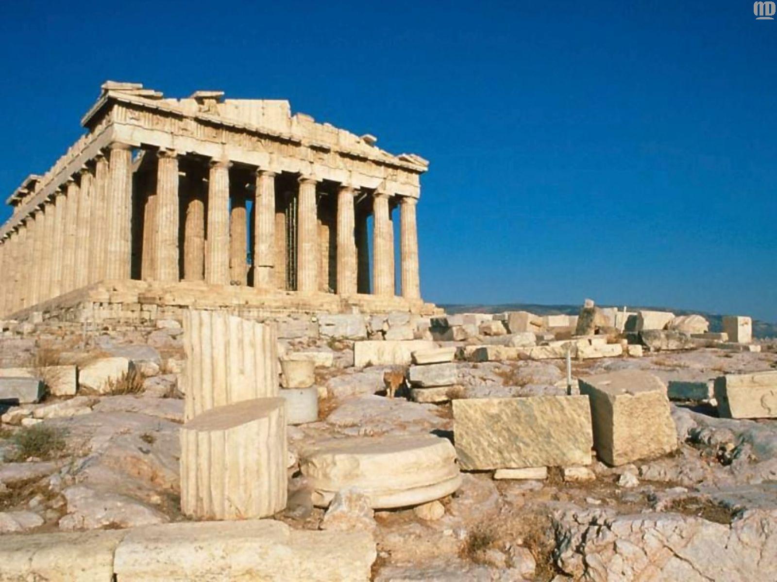 Достопримечательности древней греции