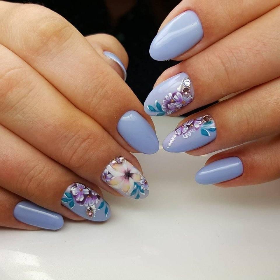23 модных новинок: Маникюр на длинные ногти - дизайн 23 с ...