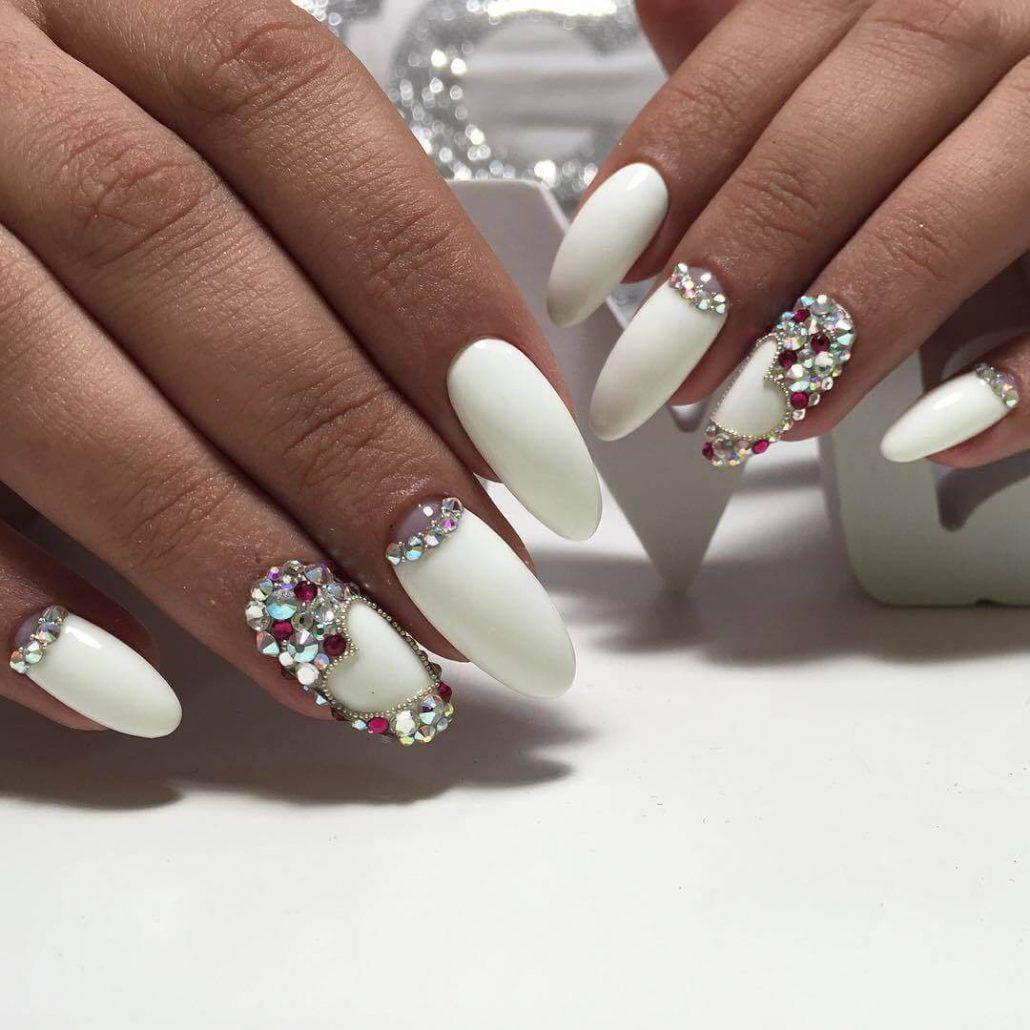25 модных новинок: Маникюр на длинные ногти - дизайн 25 с ...