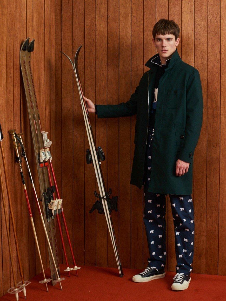 Мода для мужчин зима 2018 фото