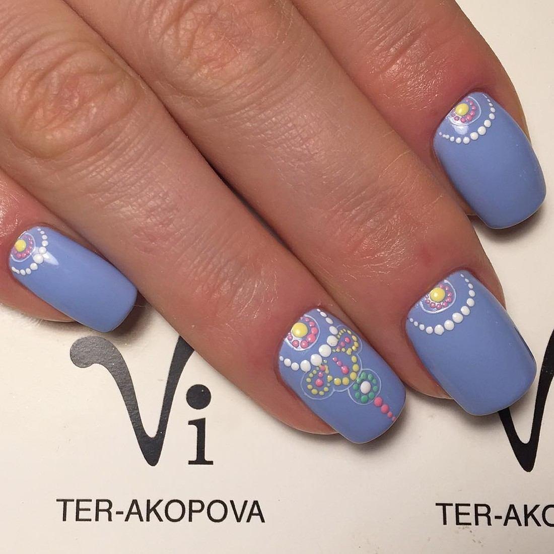 точечный дизайн ногтей - Тюменский издательский дом