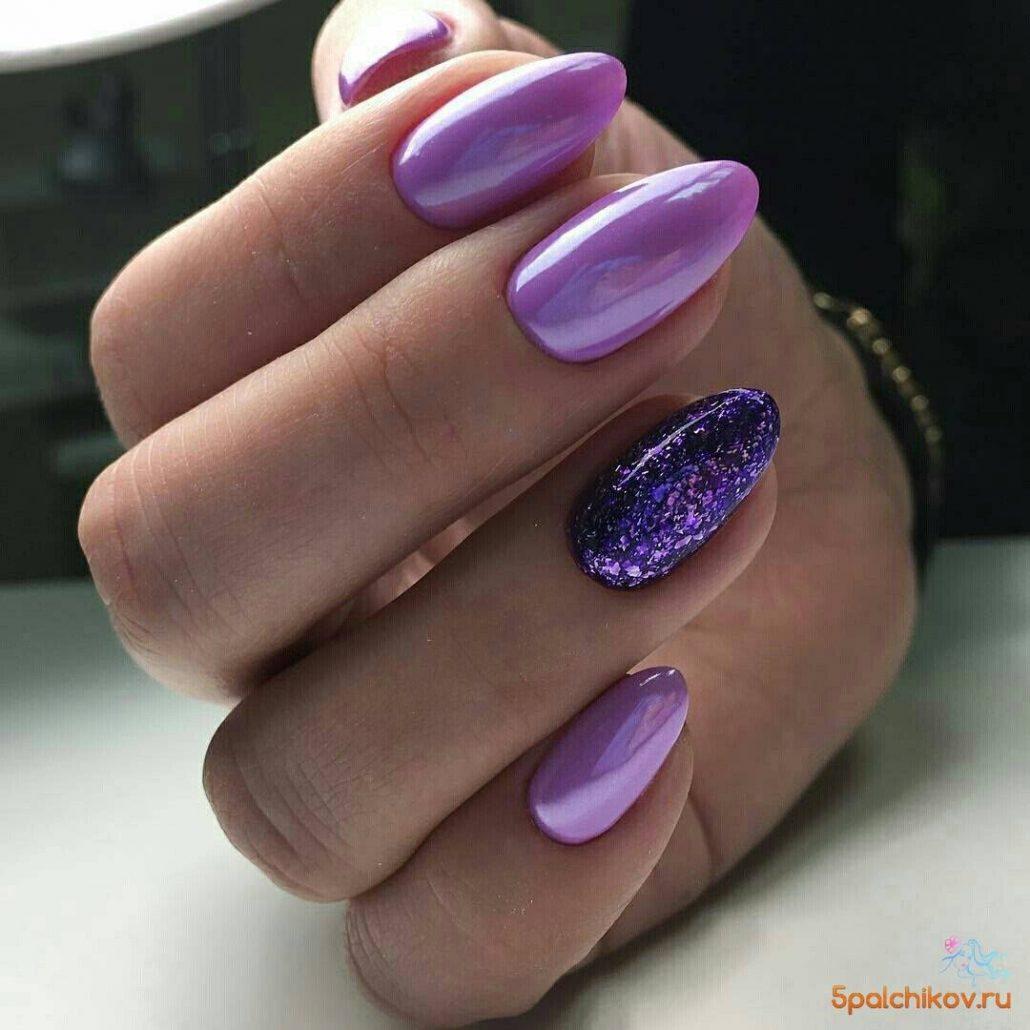 Фиолетовый цвет разновидности