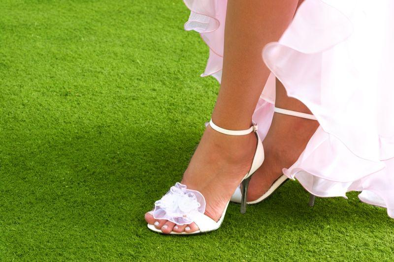 Свадебный педикюр 2018 модные тенденции фото