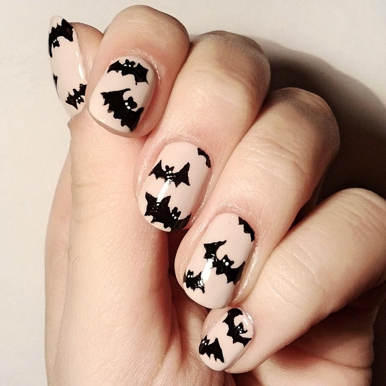Маникюр прикольные рисунки на ногтях