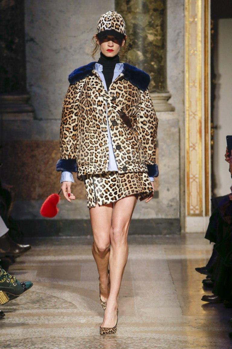 мода на леопардовый принт 2018