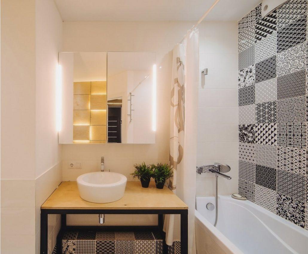 современный дизайн ванной комнаты 2018 100 модных идей с фото