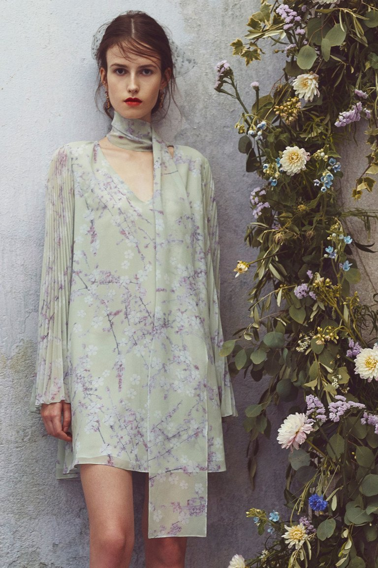 5-3 Шифоновое платье на лето 2019 (81 фото): новинки, нарядные фасоны и модели