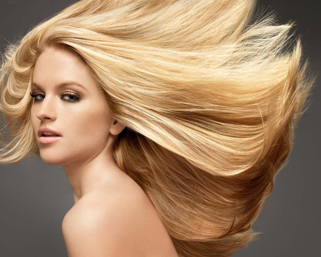 Цвет волос красивый блонд