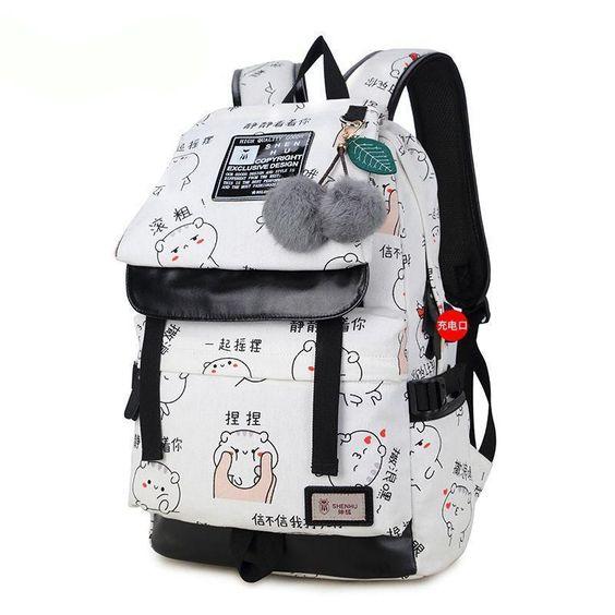 f22727af0760 Модные рюкзаки для девочек: 100 стильных новинок и моделей в школу