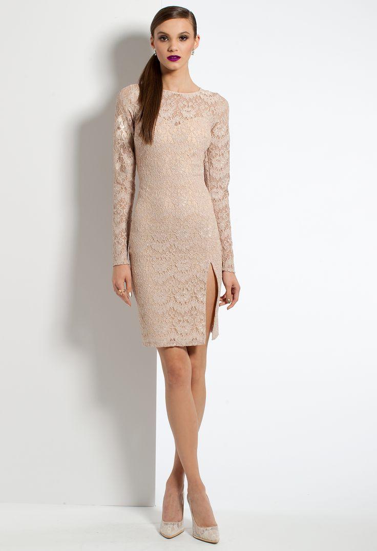 3ea0cb122a1 Бежевое платье  100+ фото модных сочетаний