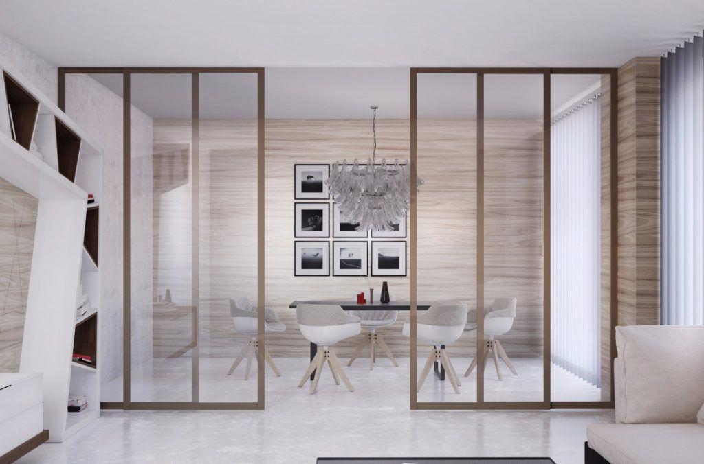 передвижные двери перегородки в квартире фото часто