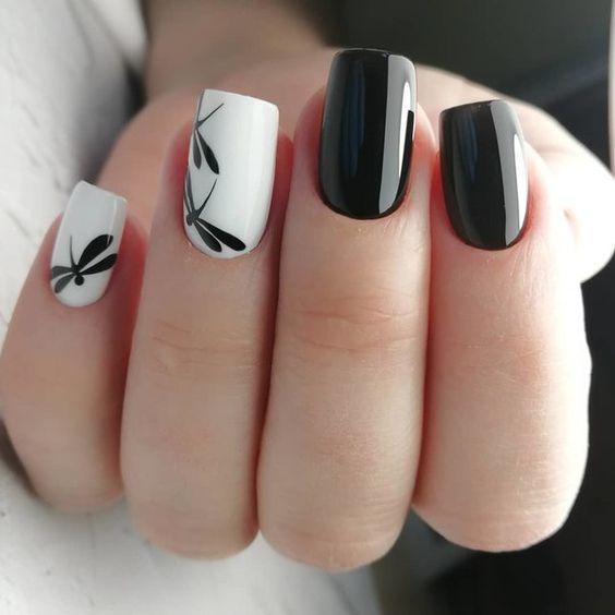 Красивые Ногти Без Рисунка
