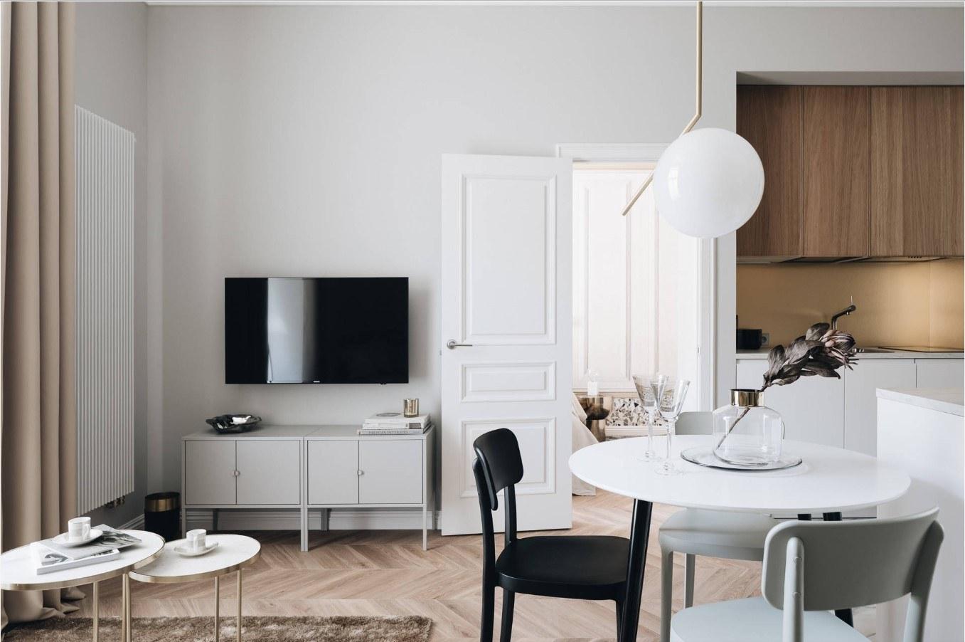 Дизайн 2-комнатной квартиры площадью 30 кв м нюансы планировки цветовые решения и выбор цвета