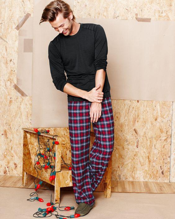 Мужские пижамы: Разнообразие фасонов, комфортные варианты и самые красивые фото картинки