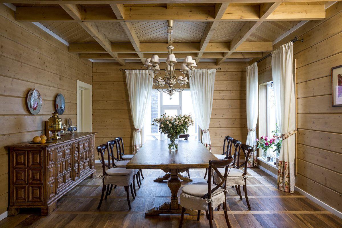 имеет дизайн отделки деревянного дома внутри фото часто