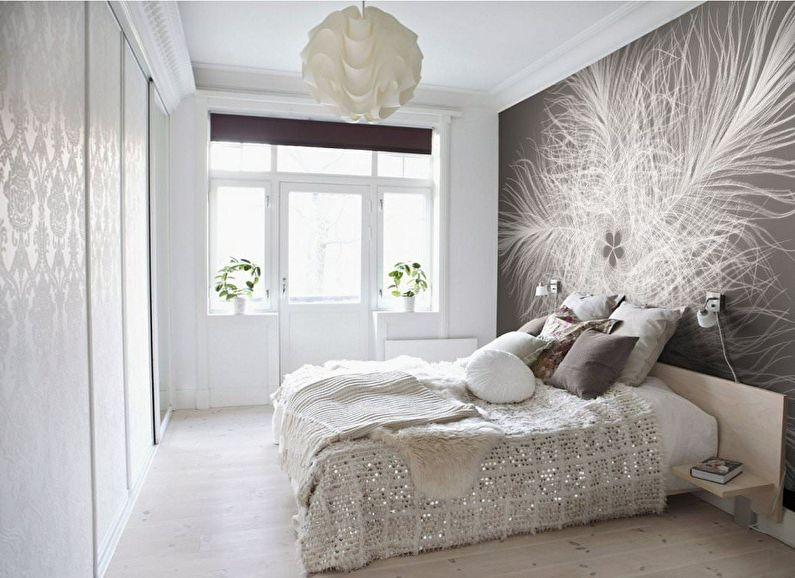 Обои для спальни (65 фото), комбинирование обоев в спальне — Идеи ... | 578x795