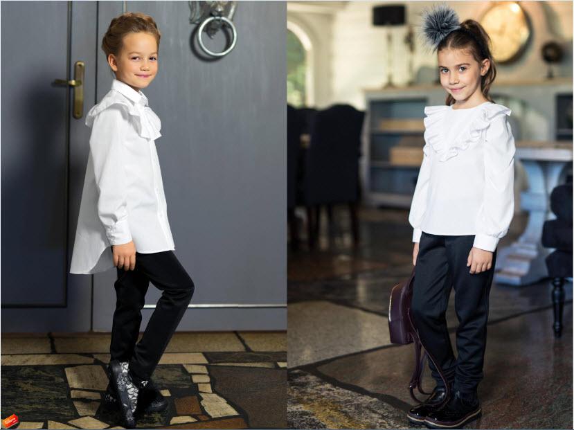 25a27d55a8b Школьные блузки  100+ вариантов модных фасонов на фото